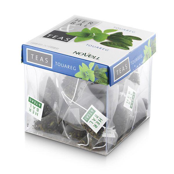 Té formato pirámide Herbal & Teas Touareg
