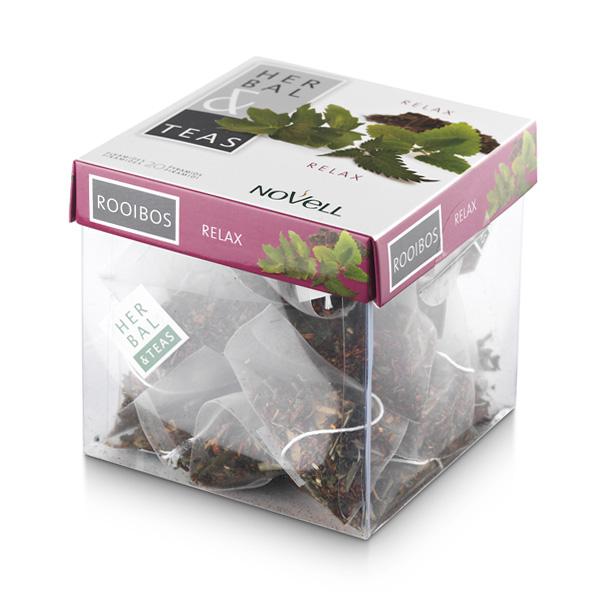 Infusión en formato pirámide Herbal & Teas Relax