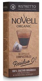 Cápsulas de café orgánico, compatibles con Nespresso® y 100% COMPOSTABLES.