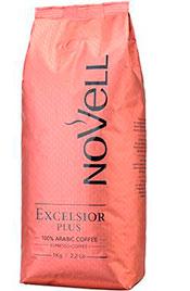 Cafés novell excelsior plus 100% arábigo